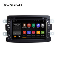 Android 8.1 Car Multimedia GPS Navigator AutoRadio For Rentult Duster Dacia Logan Sandero Xray 2 Car DVD Central Cassette Player