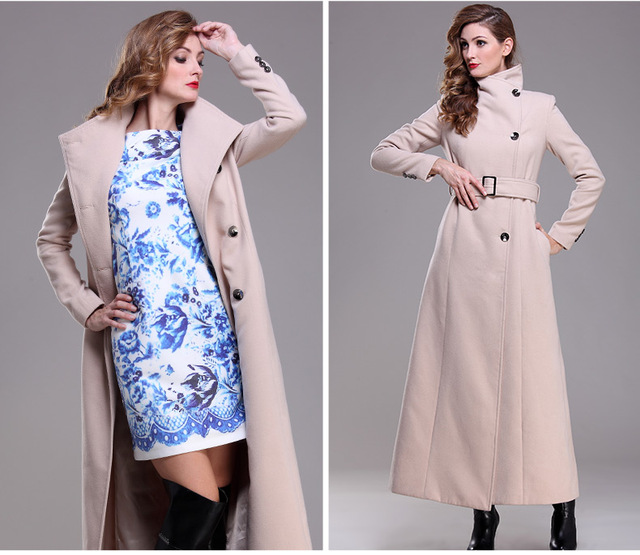 2016 ropa musulmán islámico para para lana de un solo pecho abrigo largo más el tamaño outwear caliente chicas europeas djellaba