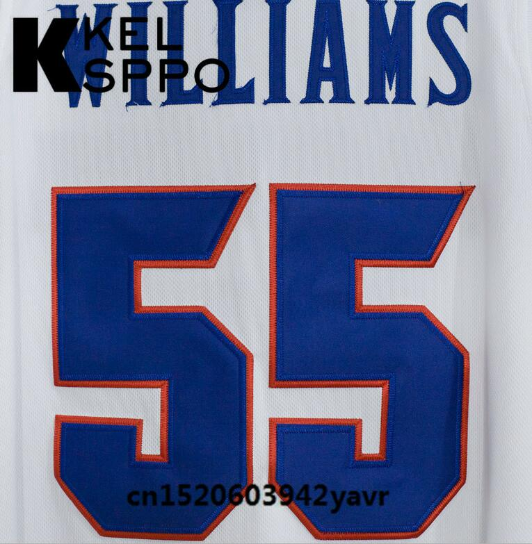 new style 02d93 ac0c9 Custom Adult Throwback Basketball Jerseys #55 Jason Williams Florida Gators  Embroidered Basketball Jersey Size XXS-6XL