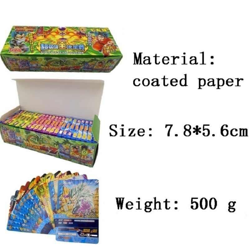 408 pcs Dragon Ball Goku Super Ultra Instinto do Cartão de Jogo Brinquedo Jogo Edição Comemorativa Coleção Para O Miúdo Frete Grátis