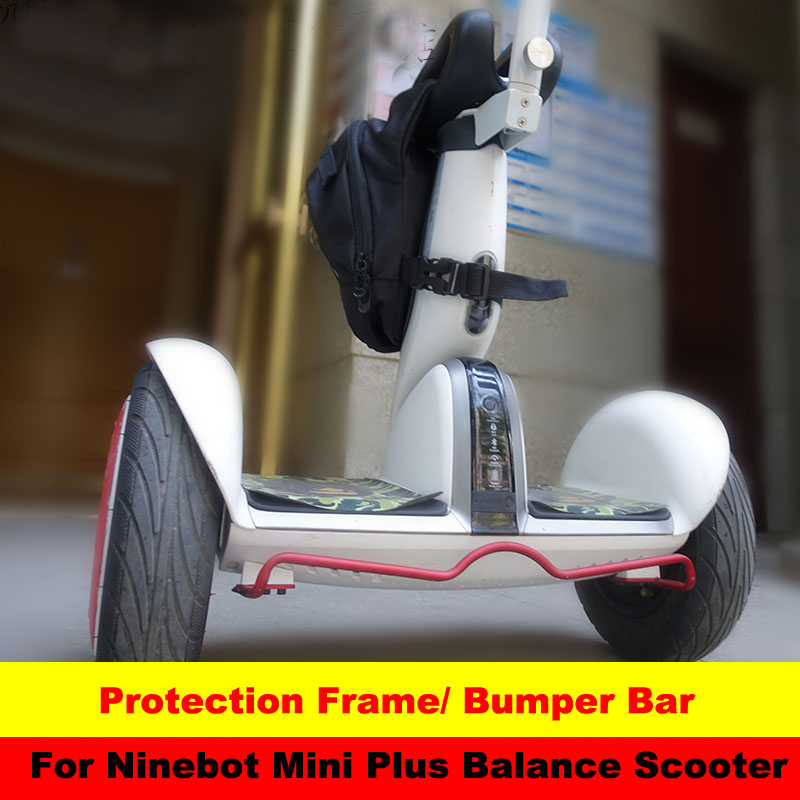 Xiaomi Mini PLUS scooter Bumper Anticollision Protection Frame Protective Bar Parking Stand for Self Balancing Scooter Mini PLUS protective tpu pc bumper frame for lg g3 mini blue black