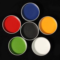 6 Colors Nontoxic Safe Face Body Paint Flash Tattoo Color Oil Painting Art Make Up Halloween