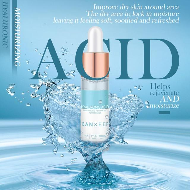 15 ml ácido hialurónico reparación suero Facial blanqueamiento Facial hidratante reducción reafirmante Esencia de poro