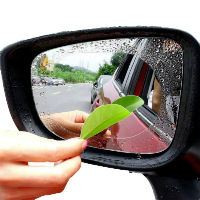 Rearview-Mirror Protective-Film Car-Anti-Rain Rainproof Auto 2PCS
