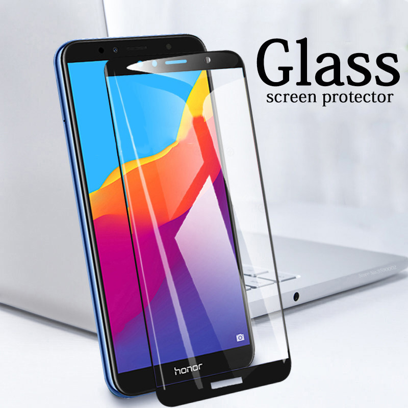 On-Honor-7A-pro-protective-glass-For-huawei-honor-7c-screen-protector-honor-7x-tempered-glas