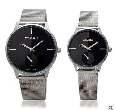 Luxury Brand Ladies Women Dress Couple Fashion Watches Men Full Stainless Steel Watch Man Quartz Casual Clocks Relogio Feminino