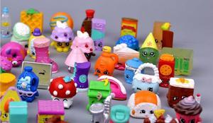Image 4 - Hotsale מיניאטורי קניות פירות בובות למשפחה ילדים חג המולד מתנת ילד משחק צעצועי מעורב עונות 100 יח\חבילה