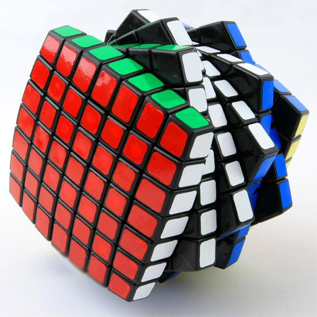 7*7*7 Arco V-cube 7 LANLAN Rompecabezas Pegatina Cubo Mágico Cubo Mágico Puzzle Cube Challenge Juguetes educativos Para Niños 1319