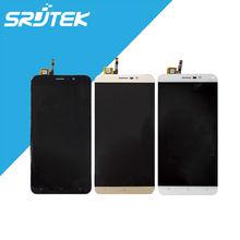 Cubot Nota S Glass Pantalla LCD + Touch Asamblea Digitalizador 5.5 pulgadas Negro para Smartphone Cubot Nota S piezas de Repuesto