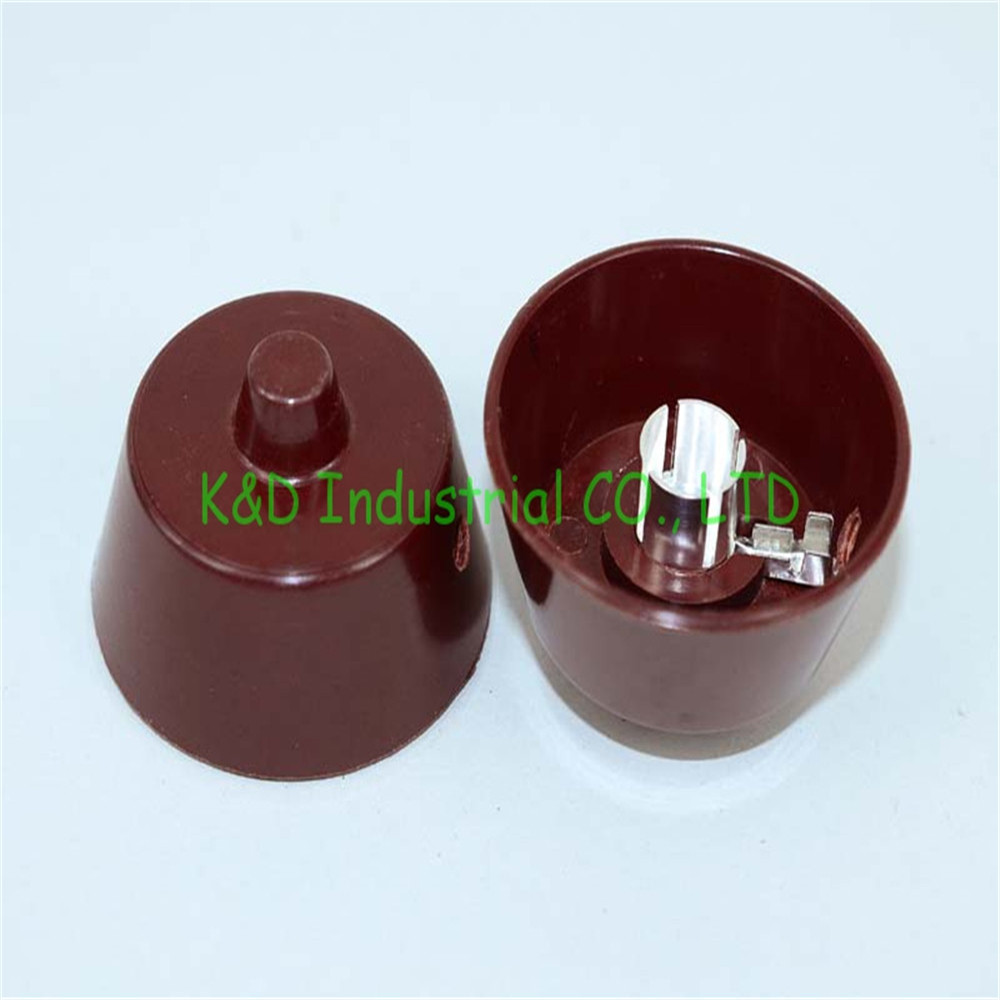 Active 1pc Brown Bakelite Valve Amps Big Tube Anode Cap For 310 807 Audio Hifi Diy Socket Long Performance Life
