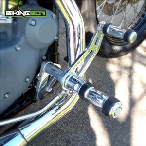 Image 3 - BIKINGBOY CNC ビレットアルミフォワードコントロール FXDL 用 00 16 ストリートボブ FXDB ダイナスーパーグライド 00 15 14 13 12