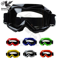 7 colors available transparent lens riding bicycle protection part bike eyewear skiing goggles moto glasses motorcycle goggle