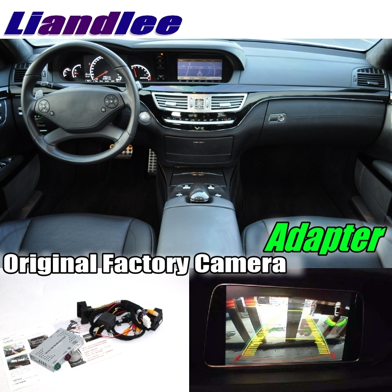 Liandlee Car Reverse Rear Back Up Camera Interface Adapter Decoder Kits For Mercedes Benz S MB W221 2006~2014 NTG System Upgrade