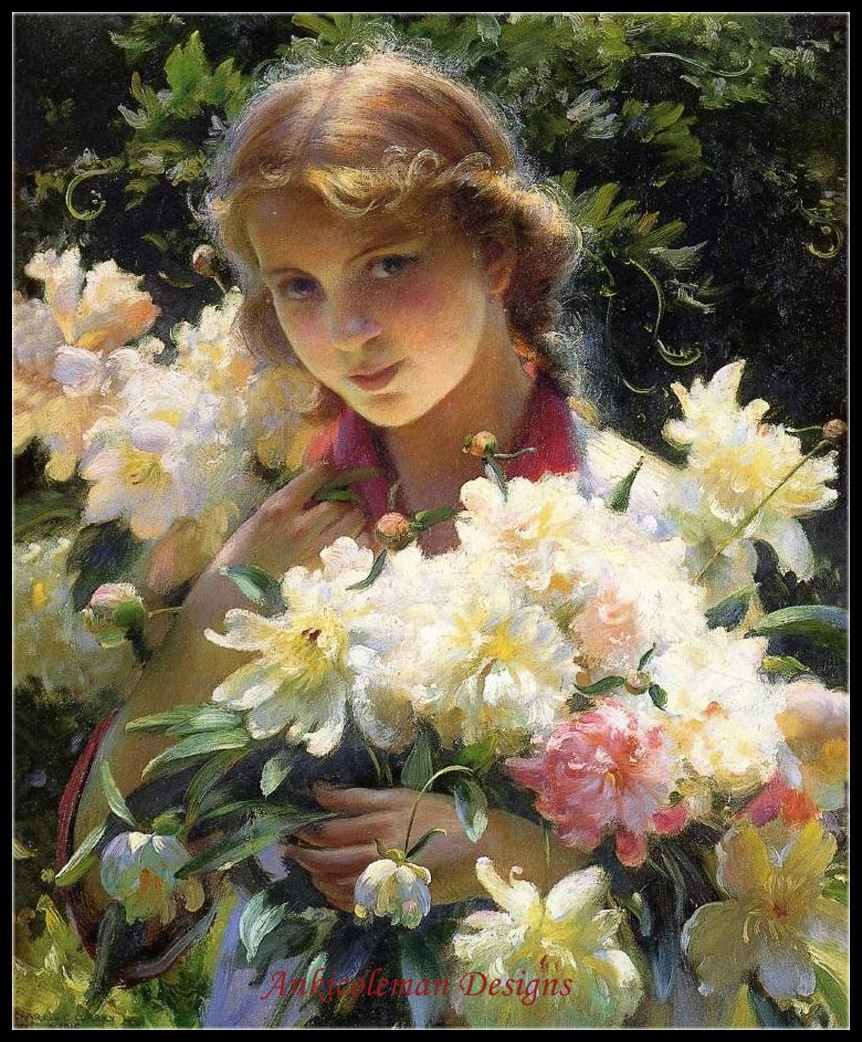 Needlework for embroidery DIY French DMC High Quality - Counted Cross Stitch Kits 14 ct Oil painting - PeoniesNeedlework for embroidery DIY French DMC High Quality - Counted Cross Stitch Kits 14 ct Oil painting - Peonies