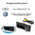Auxiliar de estacionamento CCD de visão traseira do carro Trunk handle camera para para Audi / VW / Passat / Tiguan / Golf / Passat / Jetta / Sharan / Touareg / Volkswagen