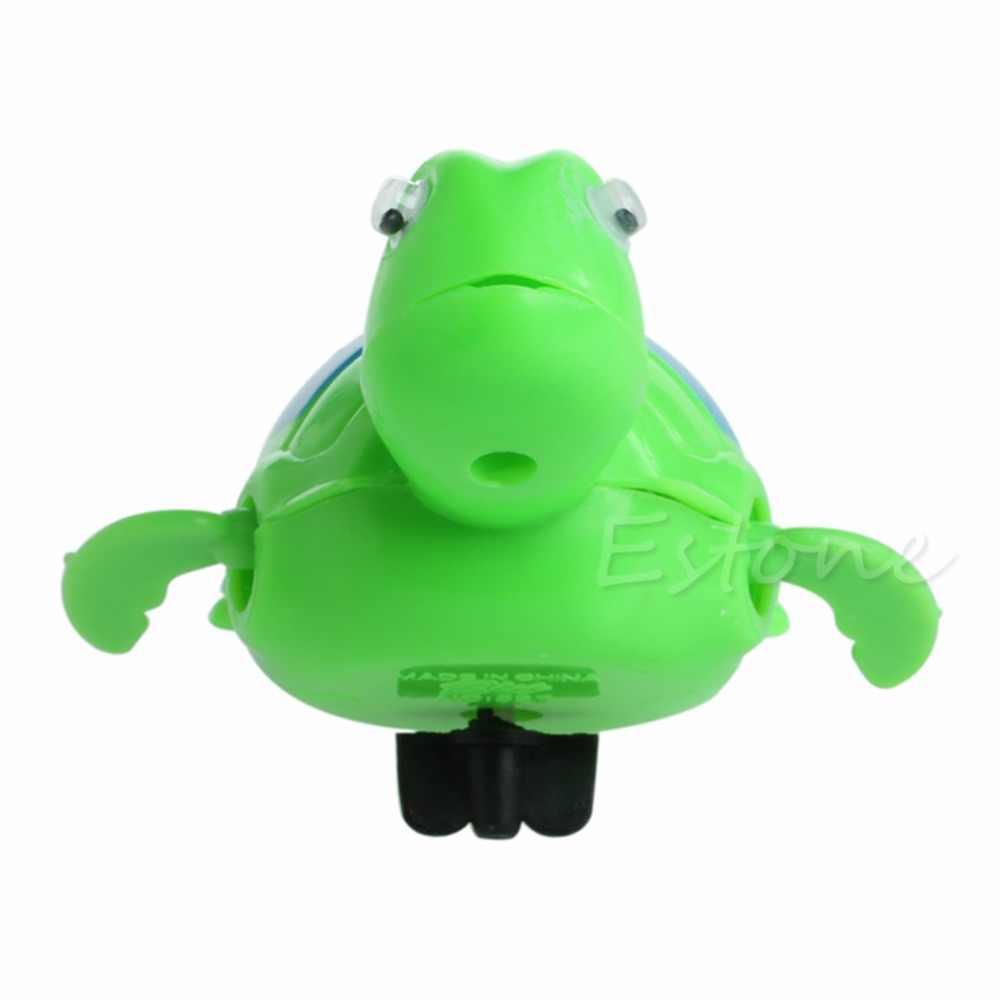 New Wind Up ว่ายน้ำสัตว์ Floating Turtle เด็กสระว่ายน้ำเด็กเวลาอาบน้ำของเล่น