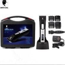 SMITH CHU Professional C-78 Electric Hair Clipper Titanium Blade Battery Men's Beard Trimmer Hair Cutting Machine Family Use