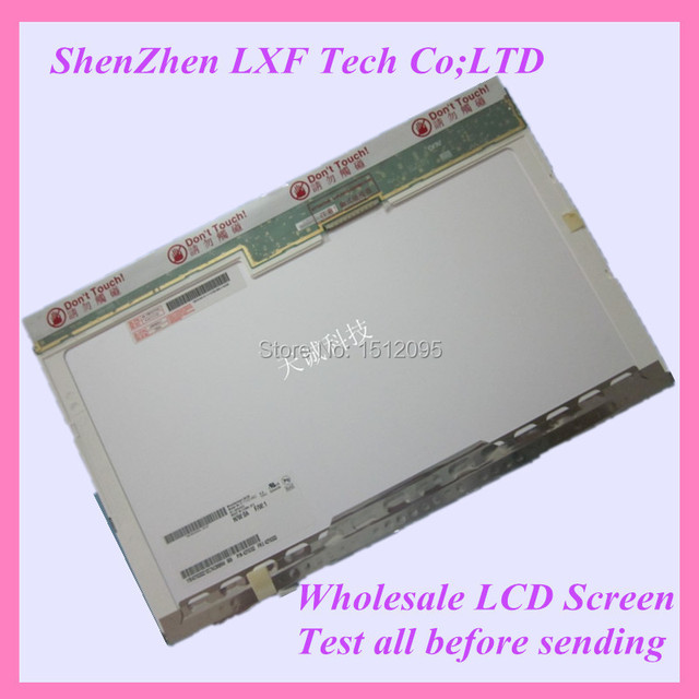 15.4 ''Laptop tela lcd B154EW02 B154EW08 LP154WX4 1280*800 30PIN