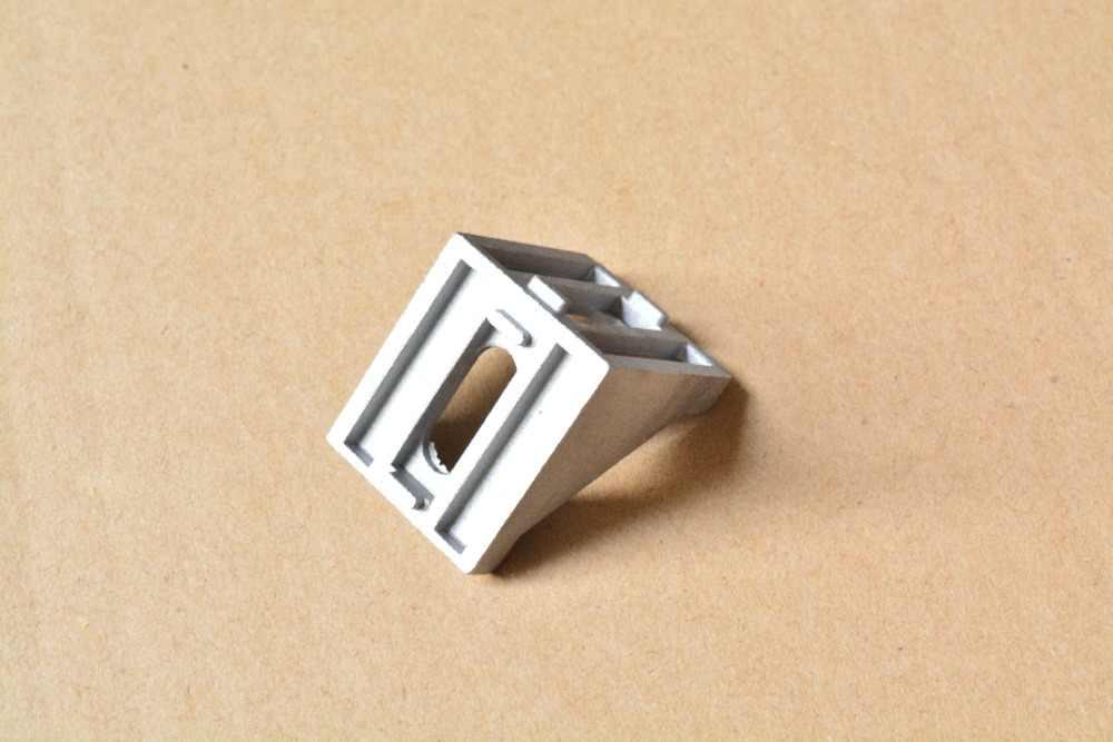 4040 halterung ecke fitting winkel aluminium 35mm x 40mm L art verschluss profil 1 stücke