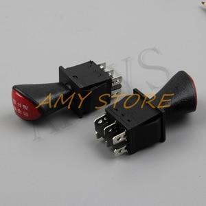 Image 4 - Forward stop הפוך חזרה DPDT 6Pin נעילה שקופיות נדנדה מתג AC 250V 16A AC 125V 20A שחור KCD4 604 6P 31x25mm מרחוק