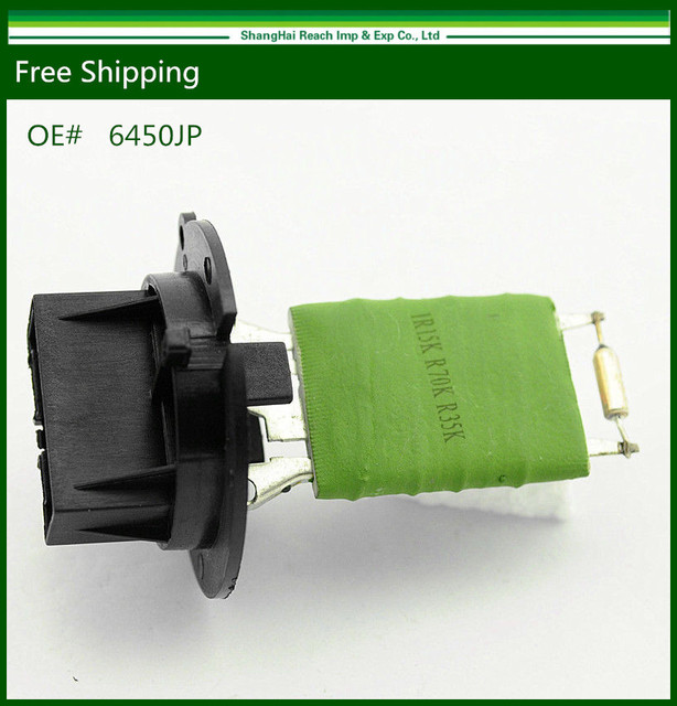 New Heater Blower Motor Resistor For Peugeot 206 307 1.4 1.6 2.0 6450JP
