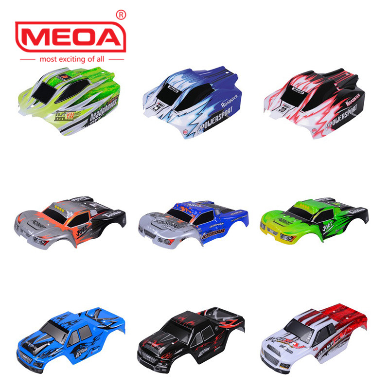 Wltoys RC Car Spare Parts A959-B-01 1:18 Body Shell Car Shell A969/A979 Car shell PVC explosion-proofhousing body shell Skin аксессуары для детей