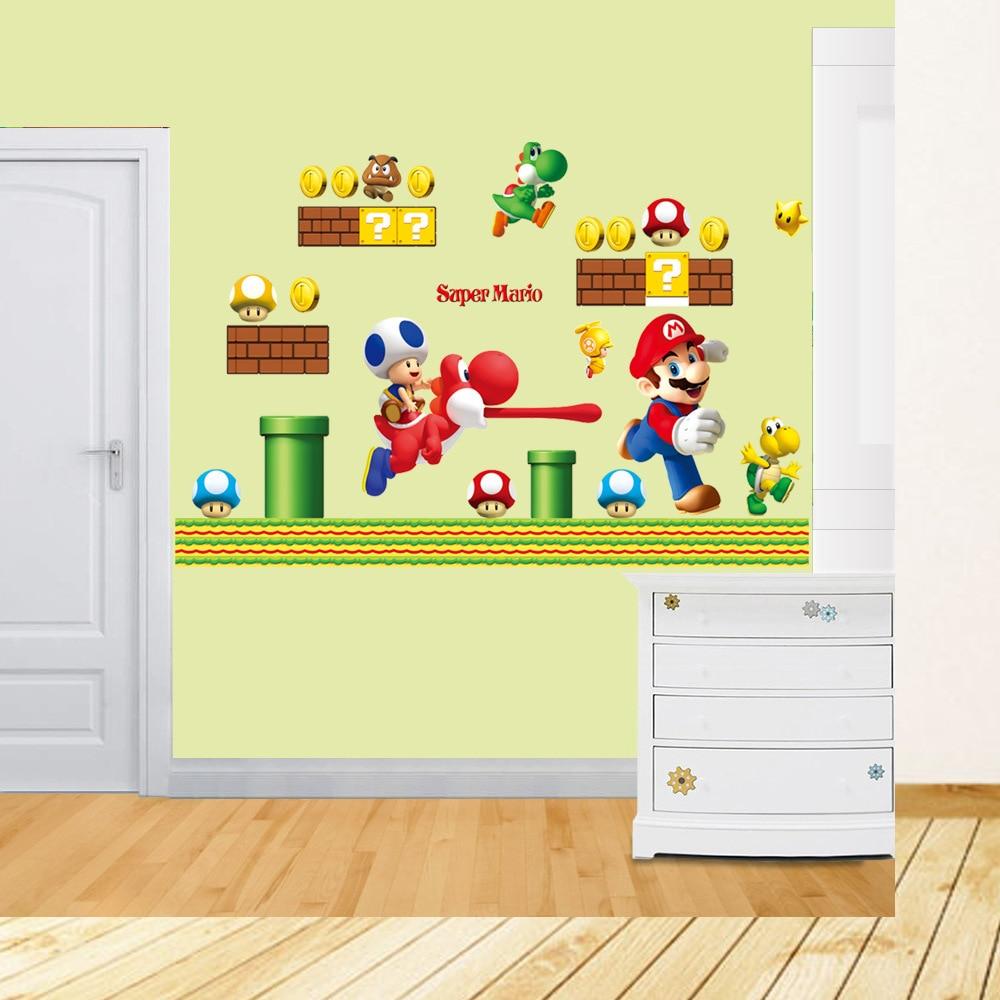 Super Mario Bedroom Mario Brothers Bedroom Super Mario Wallpaper Bedroom Huge Super