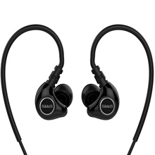 SikkiS Sports Headphones with Mic Remote for Earphones Noise Isolating Stereo  Bass Sound F6