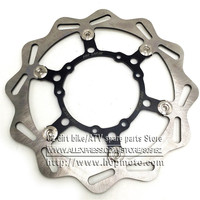 270MM Oversize Front Floating Brake Disc Rotor CR125 CR250 CRF ENDURO (HM) 230CC CRF X R 250 450 Motocross Dirt Bike Supermoto