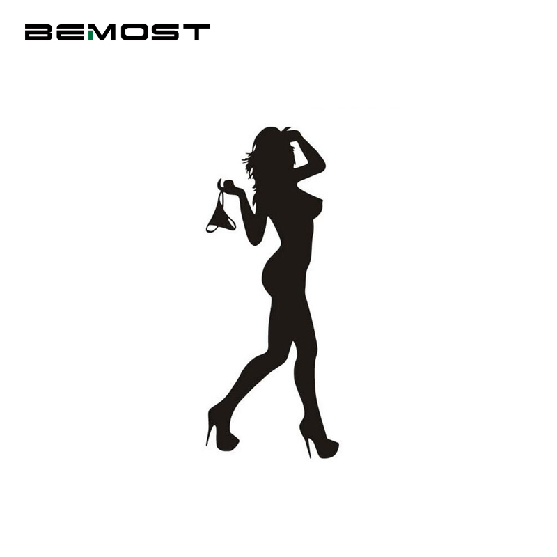 BEMOST <font><b>Car</b></font> Styling Cartoon <font><b>Car</b></font> <font><b>Stickers</b></font> Waterproof Reflector Decals Beautiful <font><b>Sexy</b></font> <font><b>Woman</b></font> Decorative <font><b>Stickers</b></font> Auto Accessories image