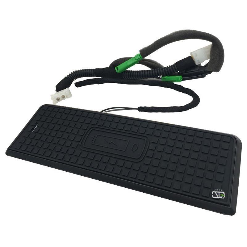 Pour BMW 3 4 Series F30 F31 F32 F34 F36 voiture QI chargeur sans fil panneau de Charge rapide accessoires de carte de Charge pour iPhone