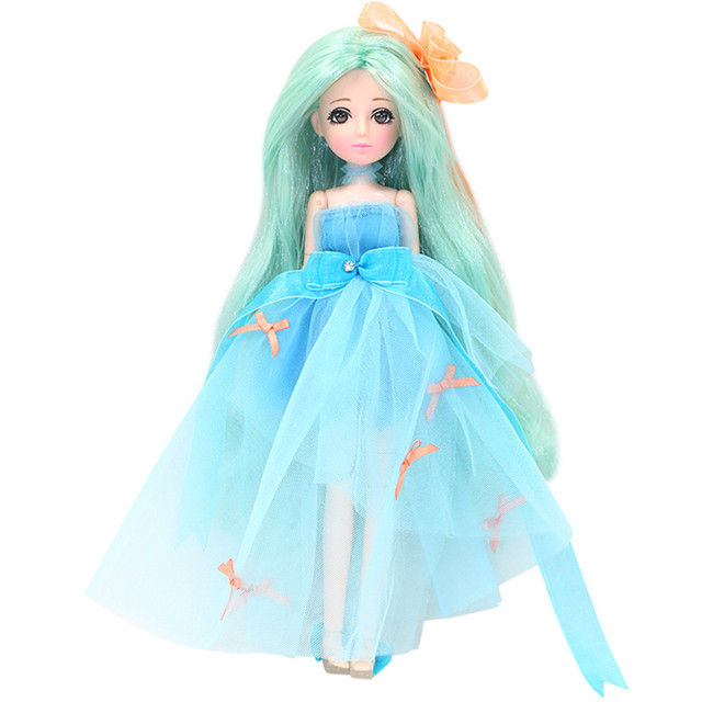 ICY blyth Xiaojing doll New Style Movable Joint Body Fashion High Quality Girls Plastic Classic Toys Best Gift bjd doll diy 2