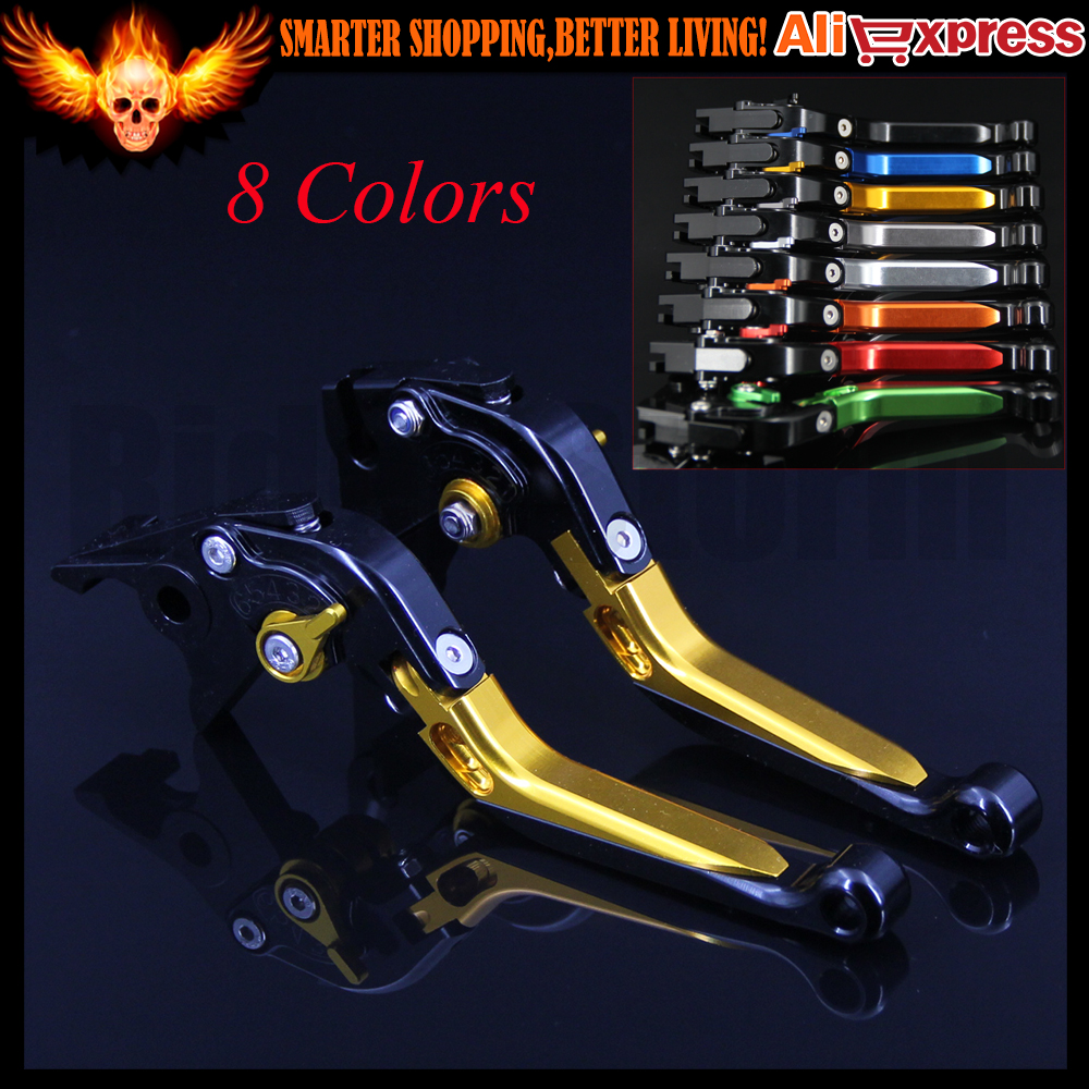 New Folding Extendable Motorcycle CNC Brake Clutch Levers For BMW K1200R SPORT R1200ST 2006 2007 2008,K1300 S/R/GT 2009-2015 motorcycle new cnc billet short folding brake clutch levers for bimota db 5 s r 1100 2006 11 07 09 10 db 7 1100 db 8 1200 08 11
