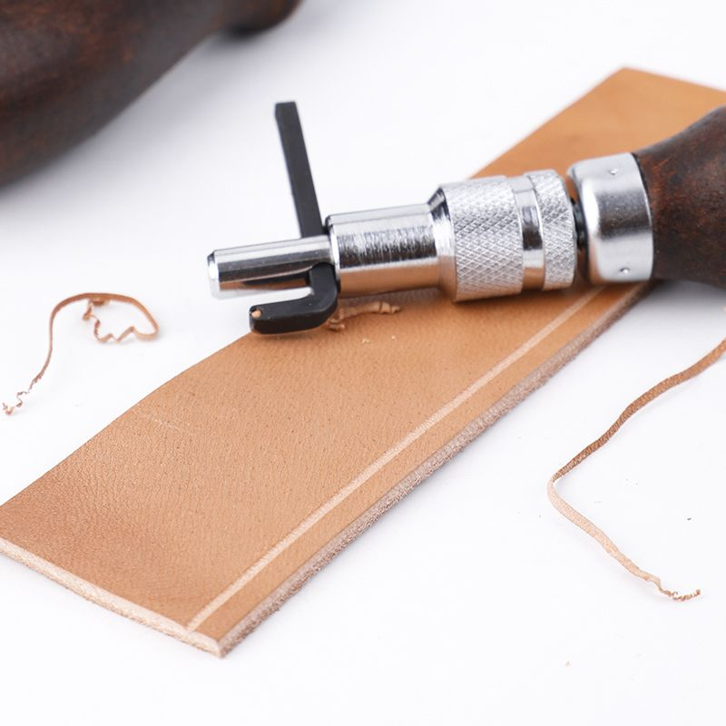 Multi-function Groover Leather Surface Processor Trimmer Edger Edger Diy Manual Leather Tool