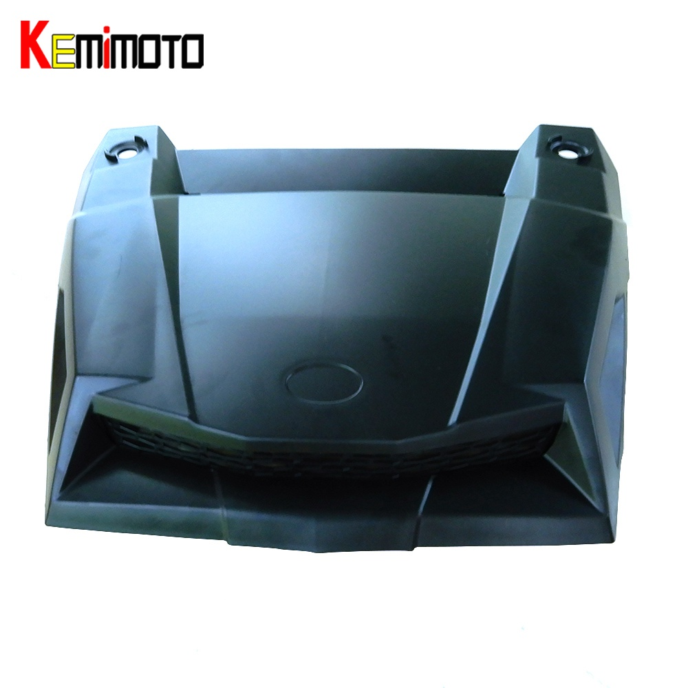 KEMiMOTO for Polaris 900 1000 Turbo Hood Scoop Air Intake Cover RZR S EPS XC XP RZR 4 XP 4 900 1000 2014 2015 2016 epman universal 3 aluminium air filter turbo intake intercooler piping cold pipe ep af1022 af