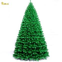 Teellook 2,1 m 2,4 m 3,0 m 4,0 m piso árbol de Navidad hotel familiar centro comercial decoraciones navideñas festivas de lujo