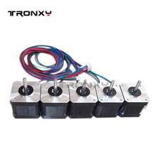 Tronxy для 42 шаговые двигатели SL42STH40-1684A Nema 17 двигатель 3D принтеры и ЧПУ XYZ Бесплатная доставка