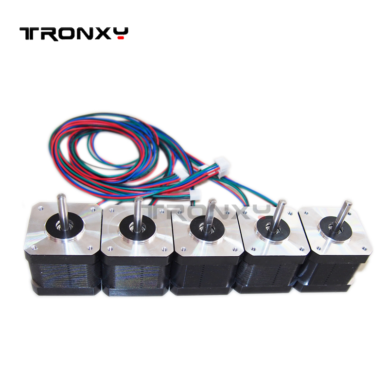 Tronxy for 42 stepper motor SL42STH40-1684A Nema 17 motor 3D printer and CNC XYZ free shipping
