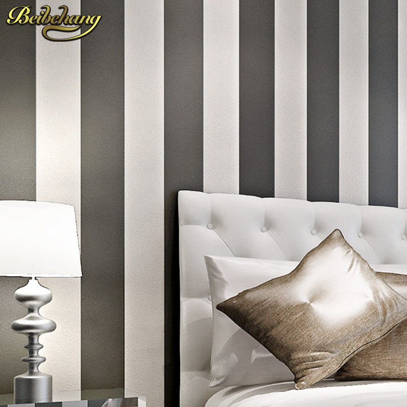 Tapete streifen grau wei vlies tapete rasch prego for Papier peint raye gris et blanc