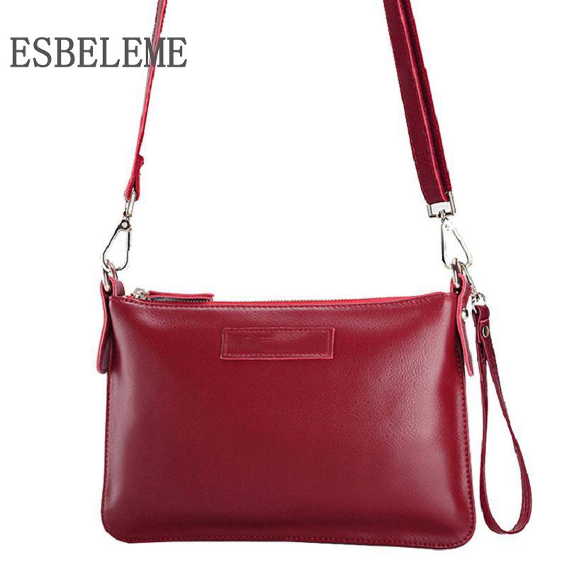 Prix pour 2017 marques haute qualité femmes véritable en cuir flap sacs à bandoulière pour femme jaune rose dames vache en cuir bandoulière sac YE006