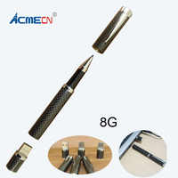 High Quality Carbon Fiber USB Pen 8GB for Computer and Laptop Accessories Pen Drive USB 51g Metal Heavy Pen with USB
