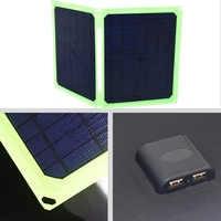 Panel Solar 40 W 5 V cargador de Panel Solar plegable portátil para teléfono móvil batería de coche Camping al aire libre Sammenfoldende solpanter