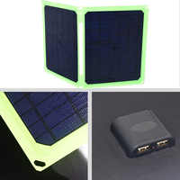 Solar Panel 40W 5V Portable Foldable Solar Panel Charger for   Cell Phone Car Battery Camping Outdoor Sammenfoldende solpaneler