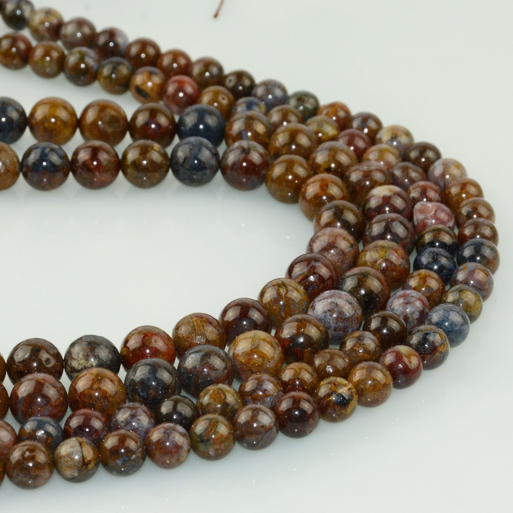 HTB1XK HLXYqK1RjSZLeq6zXppXa7 Natural Pietersite Stone Loose Round Beads 8mm / 10mm