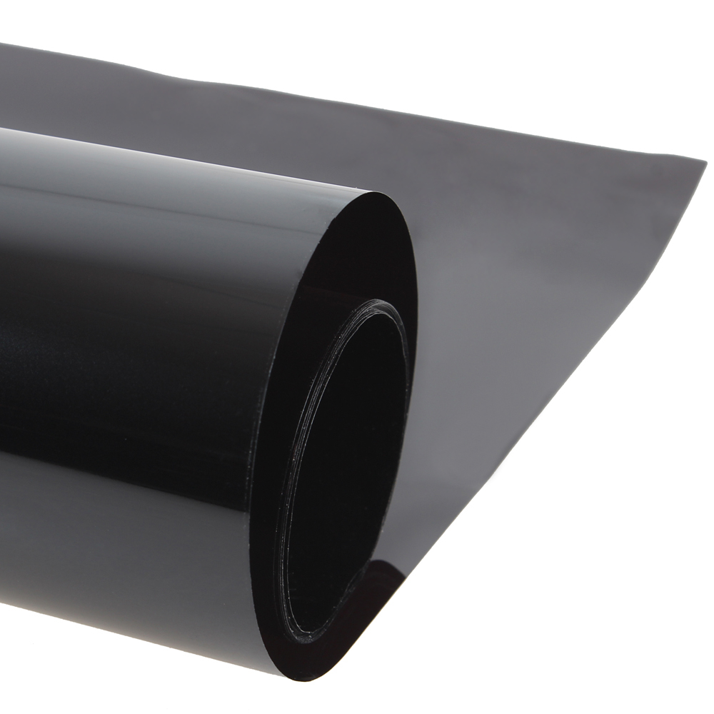 0 5 3m dark black uv insulation car window tint film vlt 15 1 ply solar protection film in side. Black Bedroom Furniture Sets. Home Design Ideas