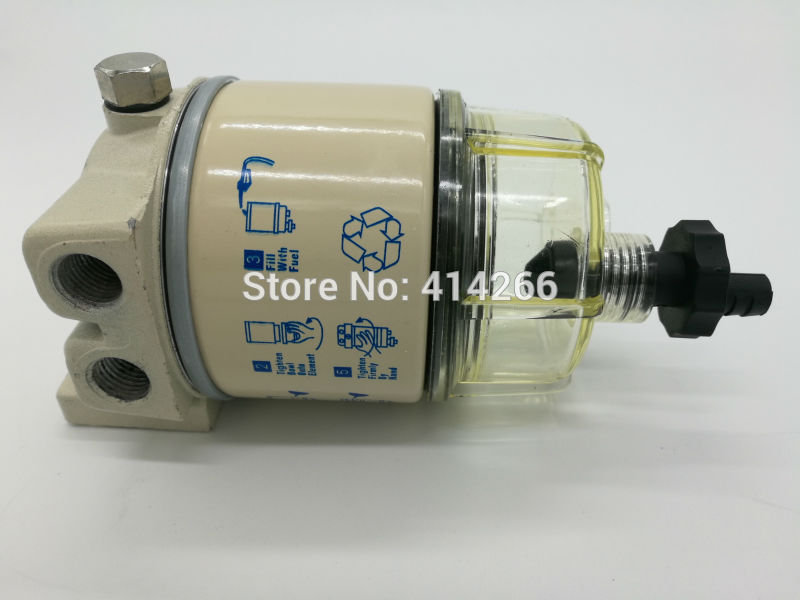 R12T 120AS replacement fuel water separator filter diesel engine truck FOR Racor parker +free shipping jiangdong engine parts for tractor the set of fuel pump repair kit for engine jd495