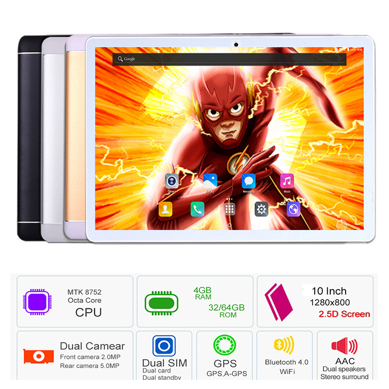 Hot Sale 10 inch tablet pc Octa Core 3G 4G FDD LTE 4GB RAM 64GB ROM