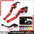 motorcycle CNC Short Brake Clutch Levers for Ducati 821 MONSTER/Dark/Stripe Scrambler HYPERMOTARD 821/939/Strada HYPERSTRADA Red