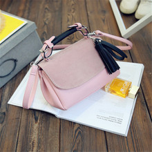 2016Winter Fashion design Bucket Bags Ladies New Fashion Leather Handbags Messenger Shoulder Crossbody Bag for girls