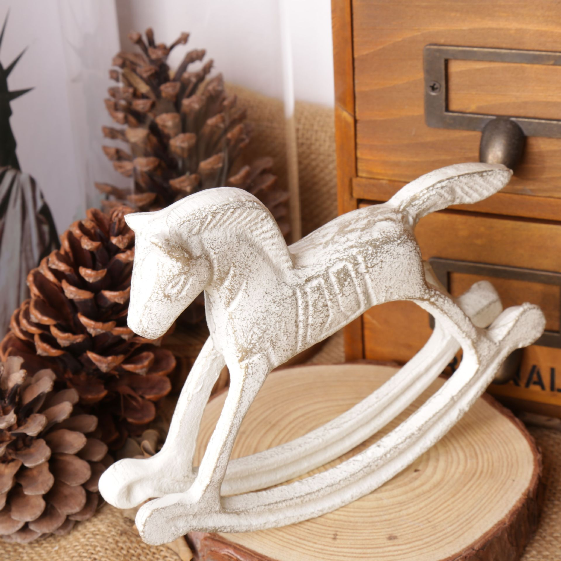 Home Decor Articles kitchen hardware awesome designs in knobs and pulls Aliexpresscom Buy Unique Gift Vintage Cast Iron Furnishing Articles Rocking Horse Vintage Home Decor Vintage Restaurant Decor 1653413cm From Reliable